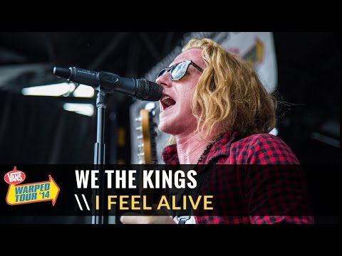 We The Kings - I Feel Alive (Live 2014 Vans Warped Tour)