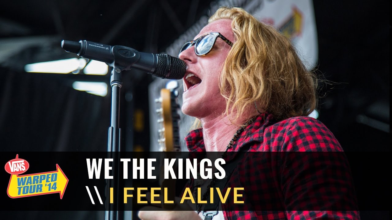 87c053b9a8 We The Kings - I Feel Alive (Live 2014 Vans Warped Tour) - YouTube