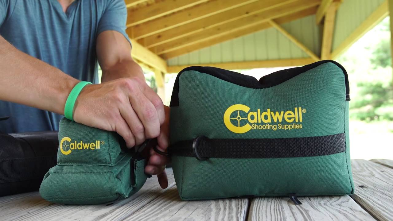 Caldwell DeadShot Shooting Bag Combo