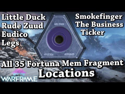Warframe | All 35 Fortuna Mem Fragment Locations thumbnail