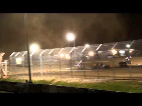 Brian Smith Wins at Attica Raceway Park