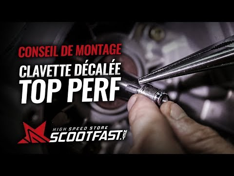 Ignition key by Top Performances for 50cc AM6 engines (instruction)