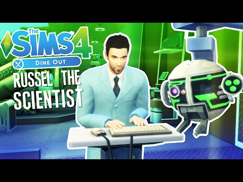 Russel the Scientist! - The Sims 4 Gameplay - The Sims 4 Part 10