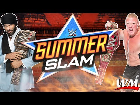 WWE SUMMER SLAM 2017 Official Music HD - GO FOR BROKE - ARENA EFFECT