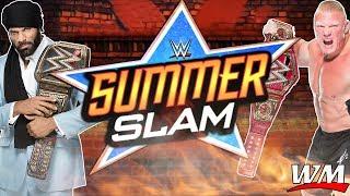 WWE SUMMER SLAM 2017 Official Music HD - GO FOR BROKE - ARENA EFFECT