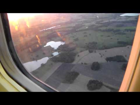 Takeoff Manchester to Budapest HD