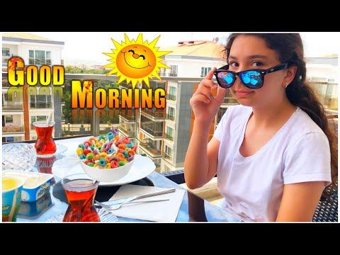 Yaz Tatilinde İlk Sabah Rutinim - Eğlenceli Video 😎