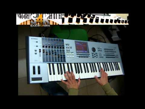 Yamaha Motif xs6 Demo ( performance Mode ) - Space4keys ( es6 xs6 xf6 )