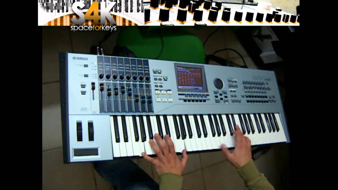 Yamaha Motif XS6 Review - Discover the Features - Piano