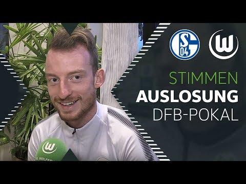 Stimmen zur Auslosung | FC Schalke 04 - VfL Wolfsburg