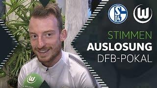 """""""Wunsch-Los""""   Reaktion auf DFB-Pokal Auslosung   FC Schalke 04 - VfL Wolfsburg"""