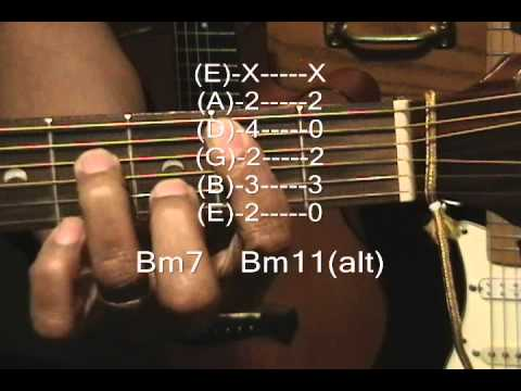 Guitar Chord Form Tutorial#139 Fine Young Cannibals Style Chords ...