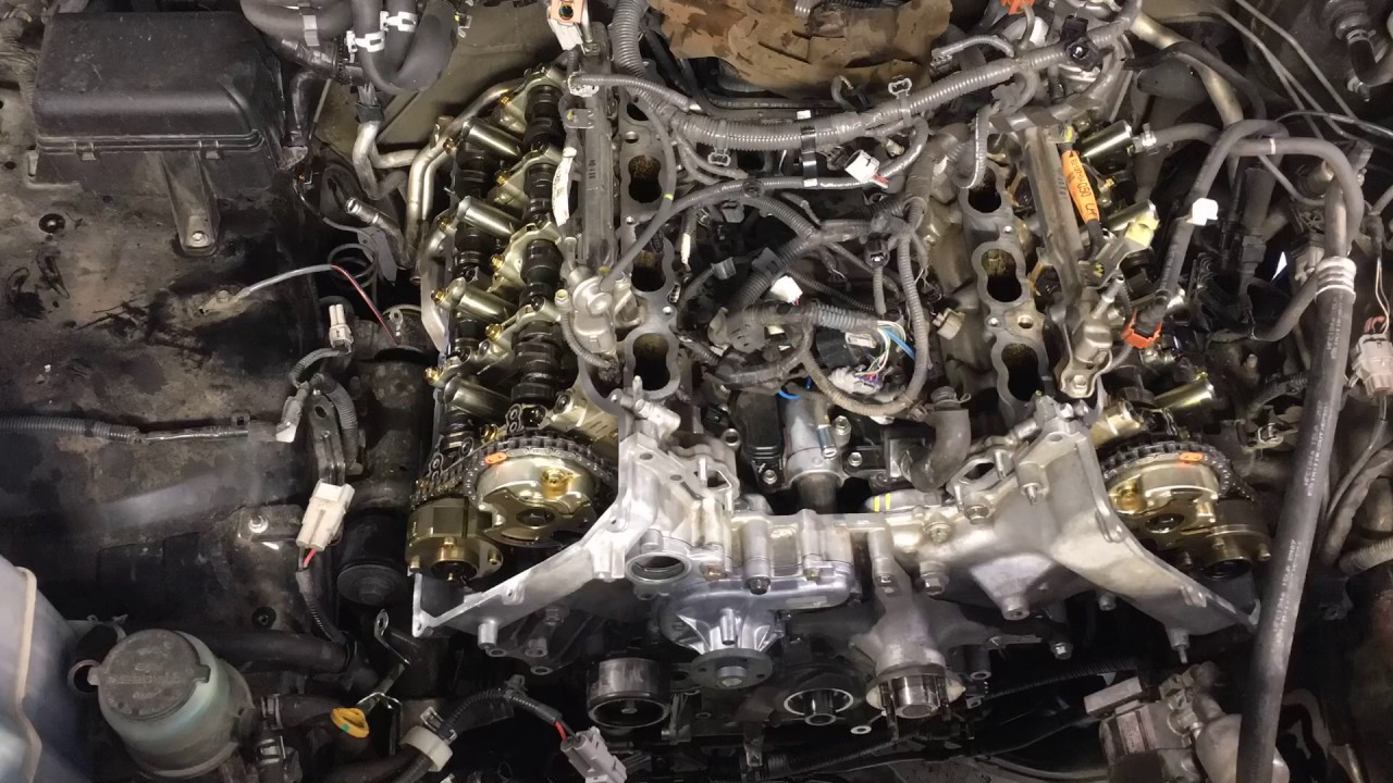 5.7 Tundra timing chain - YouTube
