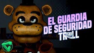 EL GUARDIA DE SEGURIDAD TROLL - (Vídeo Reacción) Five Nights at Freddy's Animation FNAF thumbnail