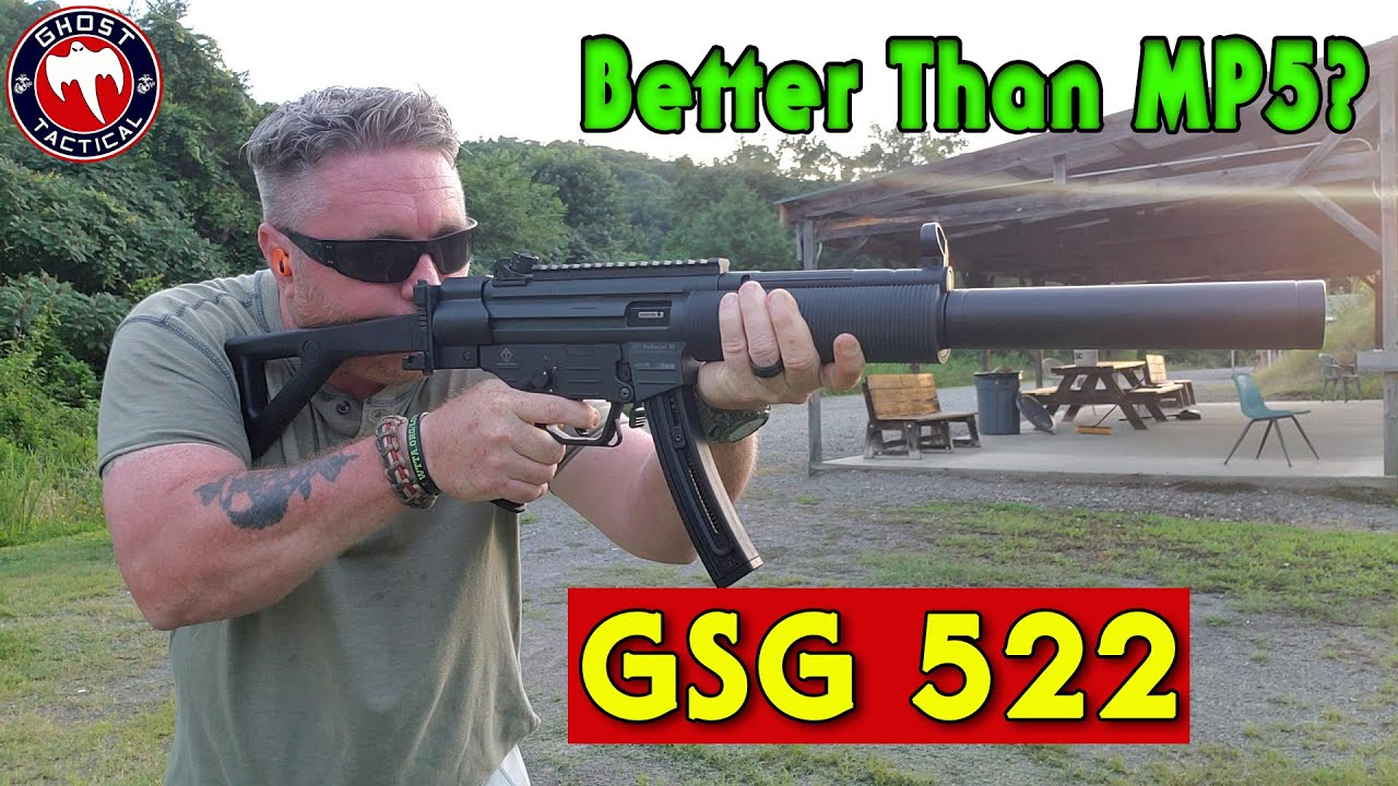 GSG 522 - Is It Better Than An MP5?