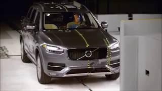 CRASH TEST Volvo XC90      X5 vs Audi Q7 vs