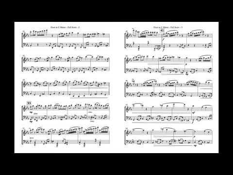 Duet in C Minor for Flute and Cello - Deterling