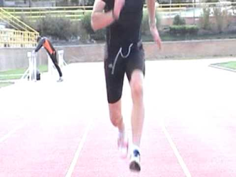 Sprint training Gary Davies