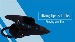 Diving Tips & Tricks: Stowing your Fins