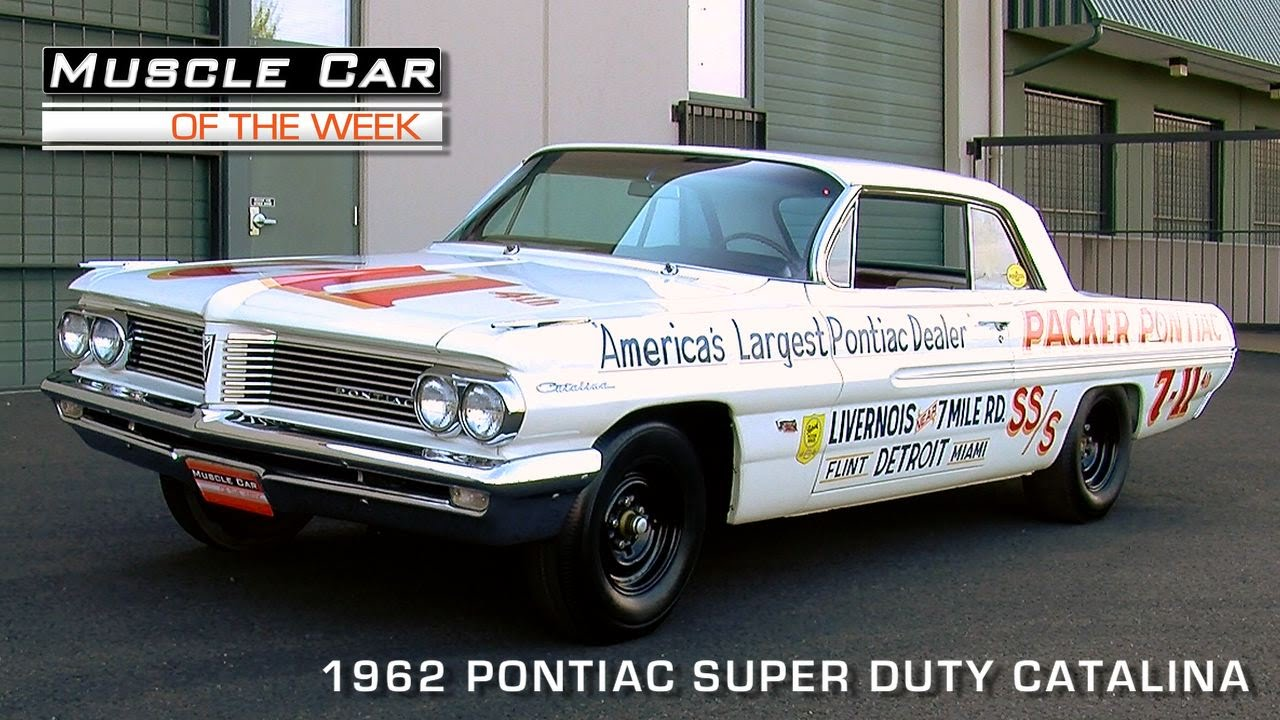 Muscle car of the week video episode 89 1962 pontiac catalina muscle car of the week video episode 89 1962 pontiac catalina super duty super stock video youtube sciox Choice Image