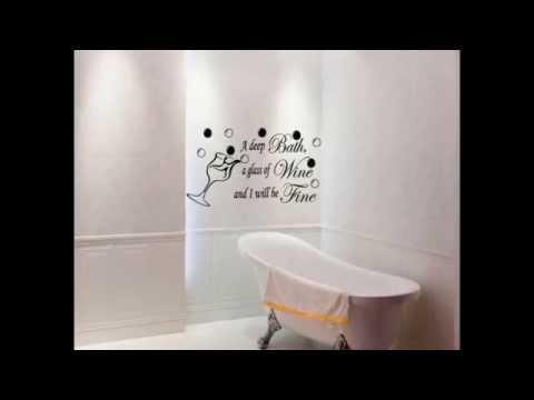 Funny Bathroom Quotes  Bathroom Wall Quotes