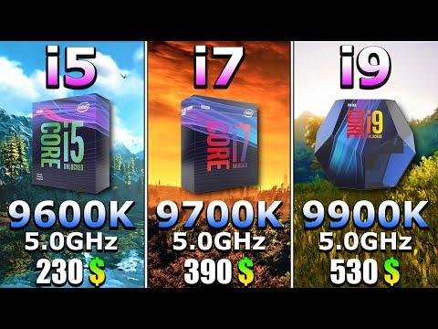 Which Is The Best CPU For PC Gaming | I5 9600K Vs I7 9700k Vs I9 9900K