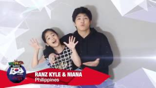 WebTVAsia Awards 2016 Shoutout - Ranz & Niana