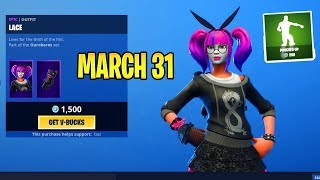 *NEW* SHOP! PUNCHED UP EMOTE!! LACE & PARADOX SKINS!! Item Shop Fortnite March 31, 2019
