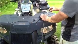 Rammy Flail mower 120 ATV mounting to ATV