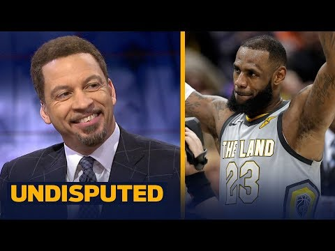 Chris Broussard reveals his biggest takeaway from LeBron and Cleveland's OT win | UNDISPUTED