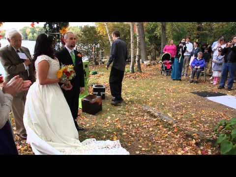 Minecraft-Themed Harlem Shake Wedding