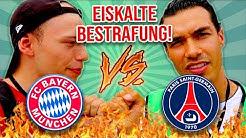 FC BAYERN vs PSG LIVE WETTE + BESTRAFUNG   FT. STRIKERS