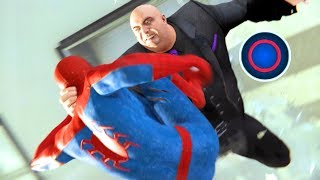 Spider-Man PS4 All Passed & Failed King Pin Quick Time Events at Fisk Tower