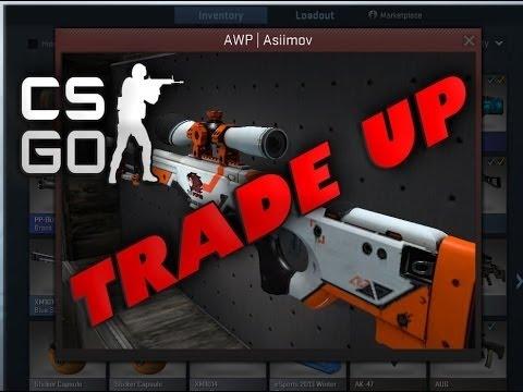 Cs go trade up contract for guaranteed awp asiimov youtube - Awp asiimov cs 1 6 ...