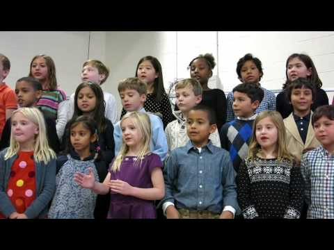 Foote School 2nd Graders Sing