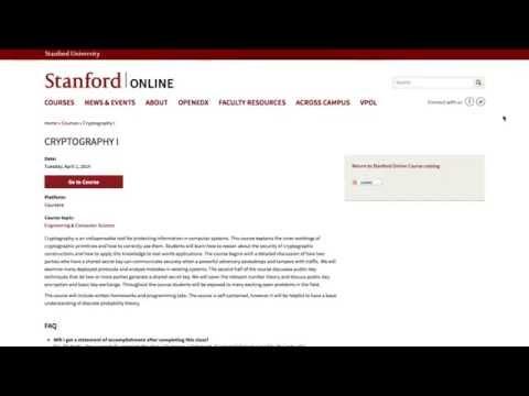 スタンフォード大学が暗号化技術の授業を公開★ Bitcoin News ビットコインニュース #61 by BitBiteCoin.com