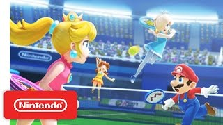 Mario Sports Superstars Nintendo 3DS - Tennis Trailer