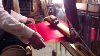 Métier à tisser la soie (Soierie St Georges)