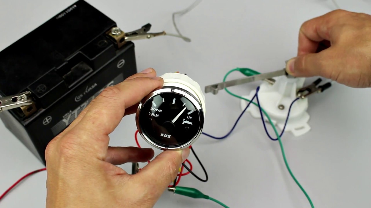 Honda Marine Fuel Gauge Wiring Diagram Vw Touareg Pdc Trim For Outboard Motors Youtube