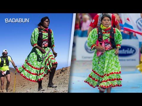Corredora indígena gana medalla en Europa. Usó vestido thumbnail