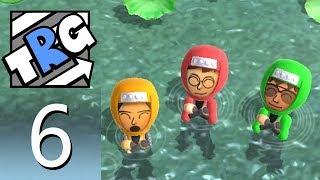 Wii Party U – Minigame Mode 6: 1-vs-3 Minigame Free Play