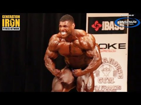 New York Pro 2018: Nathan De Asha Winning Posing Routine | GI Exclusive