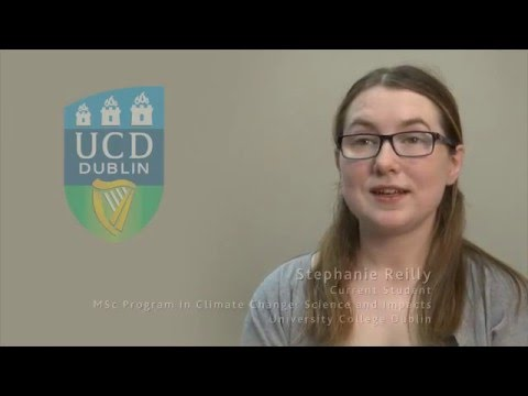 Taught Master on Climate Change in UCD, Ireland