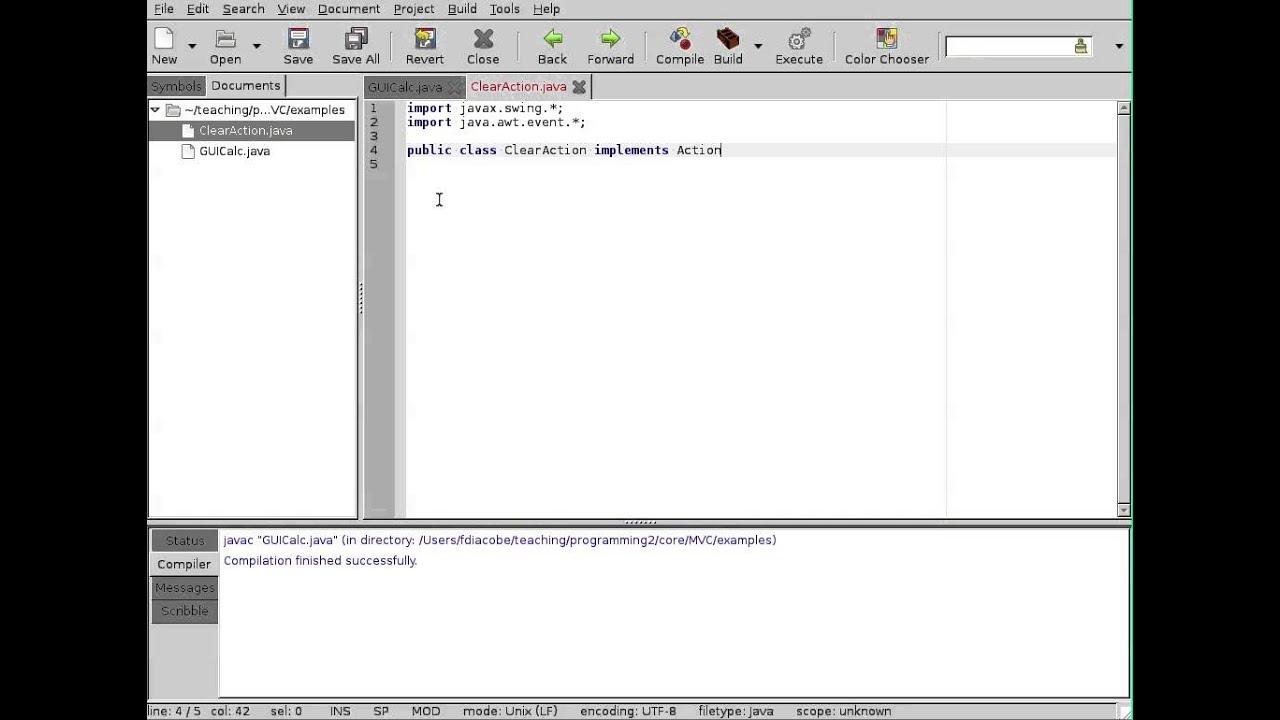 Basics of event handling in java pdf reader