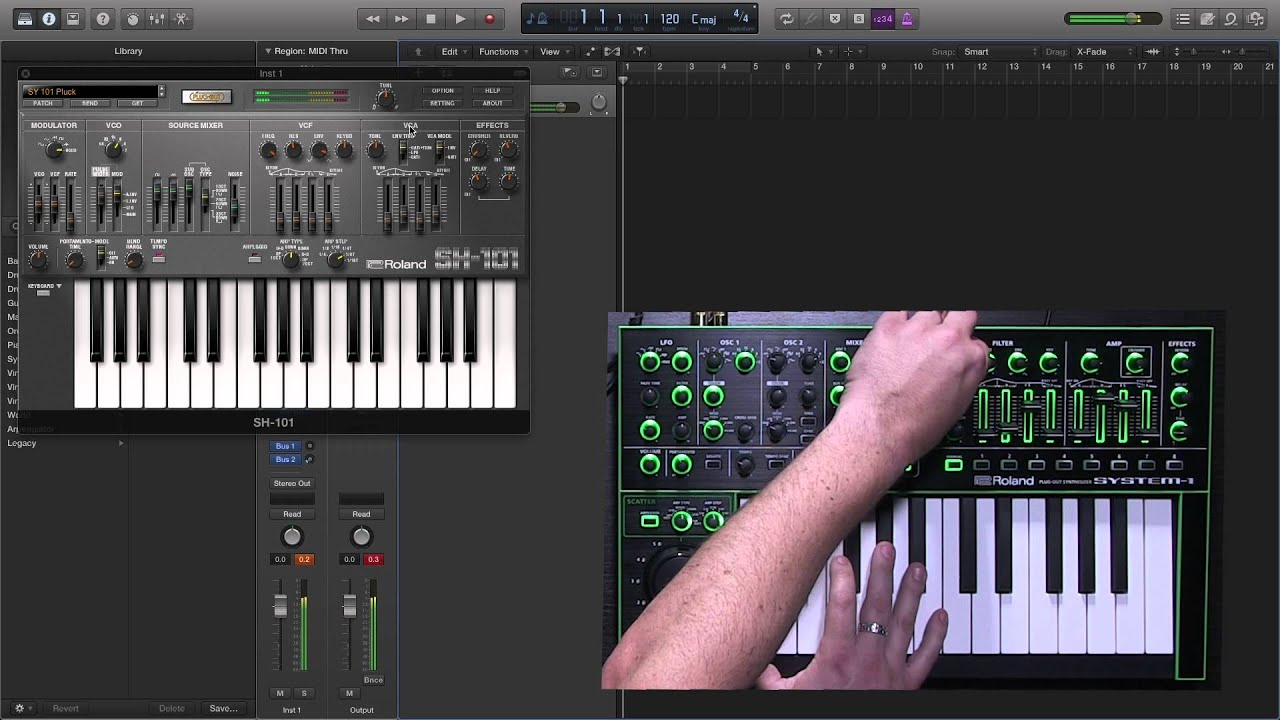 Roland - SH-101 PLUG-OUT | Software Synthesizer