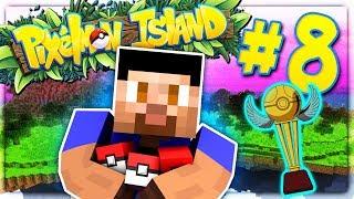 THE FIRST TOURNAMENT! - PIXELMON ISLAND S2 #8 (Minecraft Pokemon Mod)