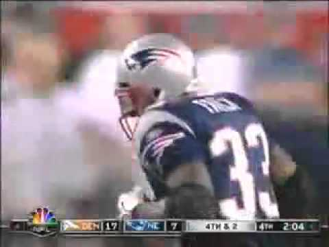 DJ Williams hit on Kevin Faulk