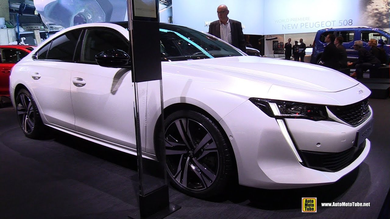 2019 peugeot 508 gt line exterior and interior walkaround 2018 genava motor show. Black Bedroom Furniture Sets. Home Design Ideas