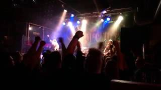 Ensiferum  - Way of the Warrior   live in Bar Kino, Pori 2017-10-06