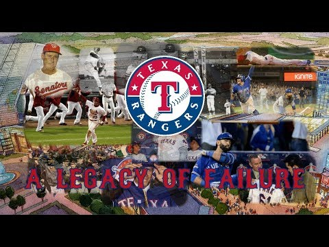 The Texas Rangers: A Legacy of Failure